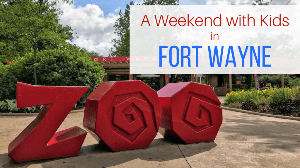 A weekend with kids in Fort Wayne, Indiana. Plan your family's next getaway with this mix and match itinerary.