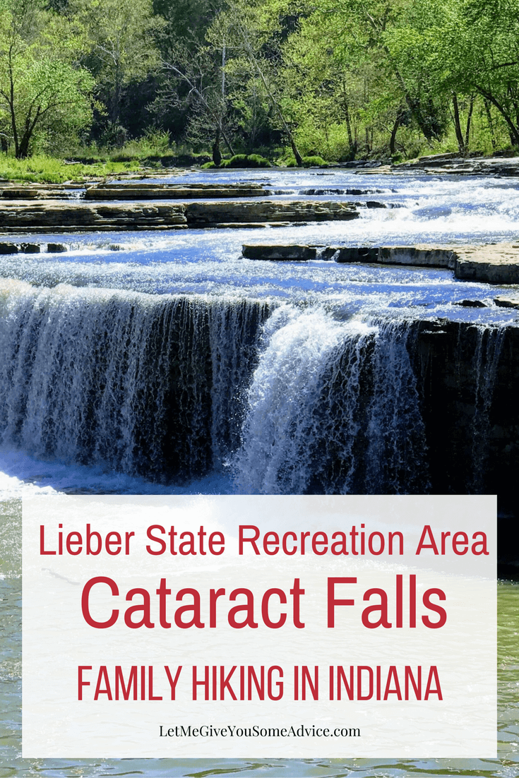 Lieber State Recreation Area and Cataract Falls. Both are short gentle hikes for families looking to explore the great outdoors in Indiana