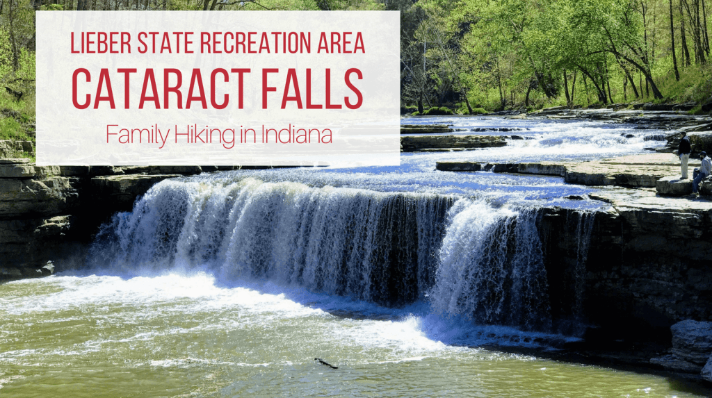 Cataract Falls and Lieber State Recreation Area both offer gentle hikes for families looking to explore the great outdoors in Indiana.
