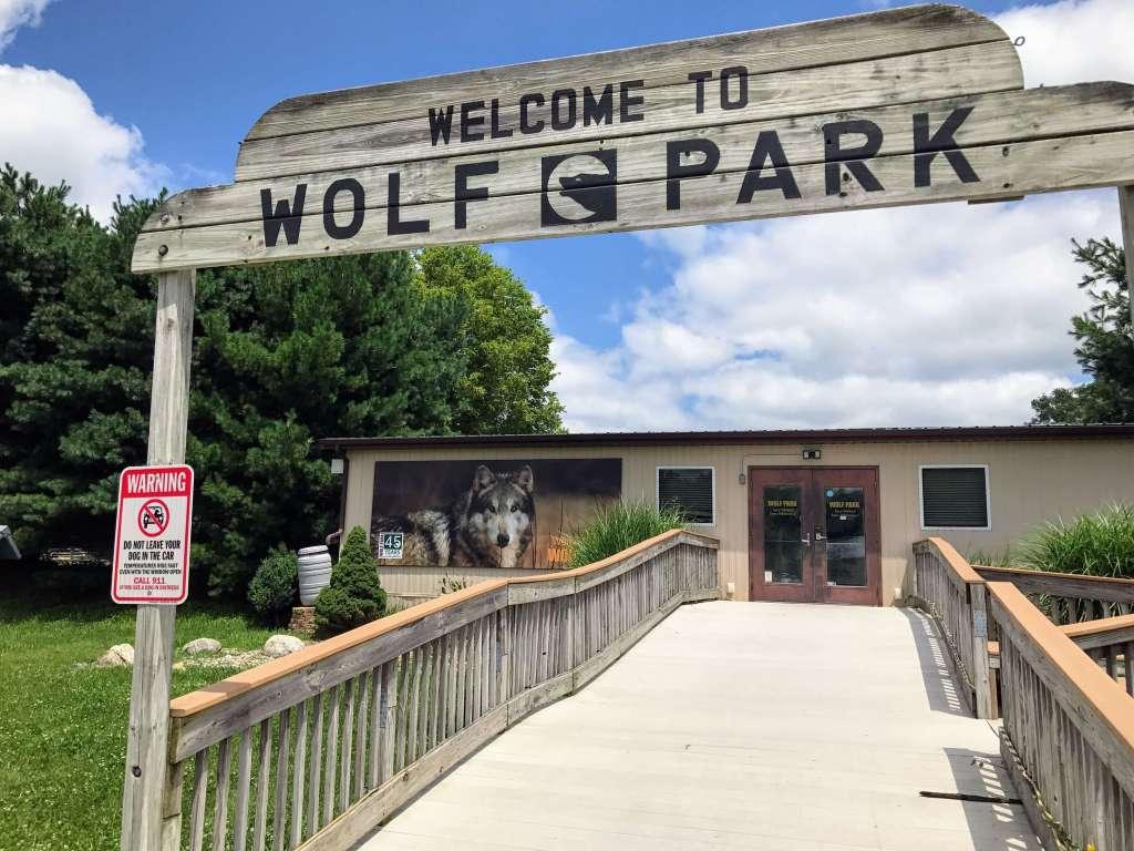 Wolf Park in Lafayette, IN