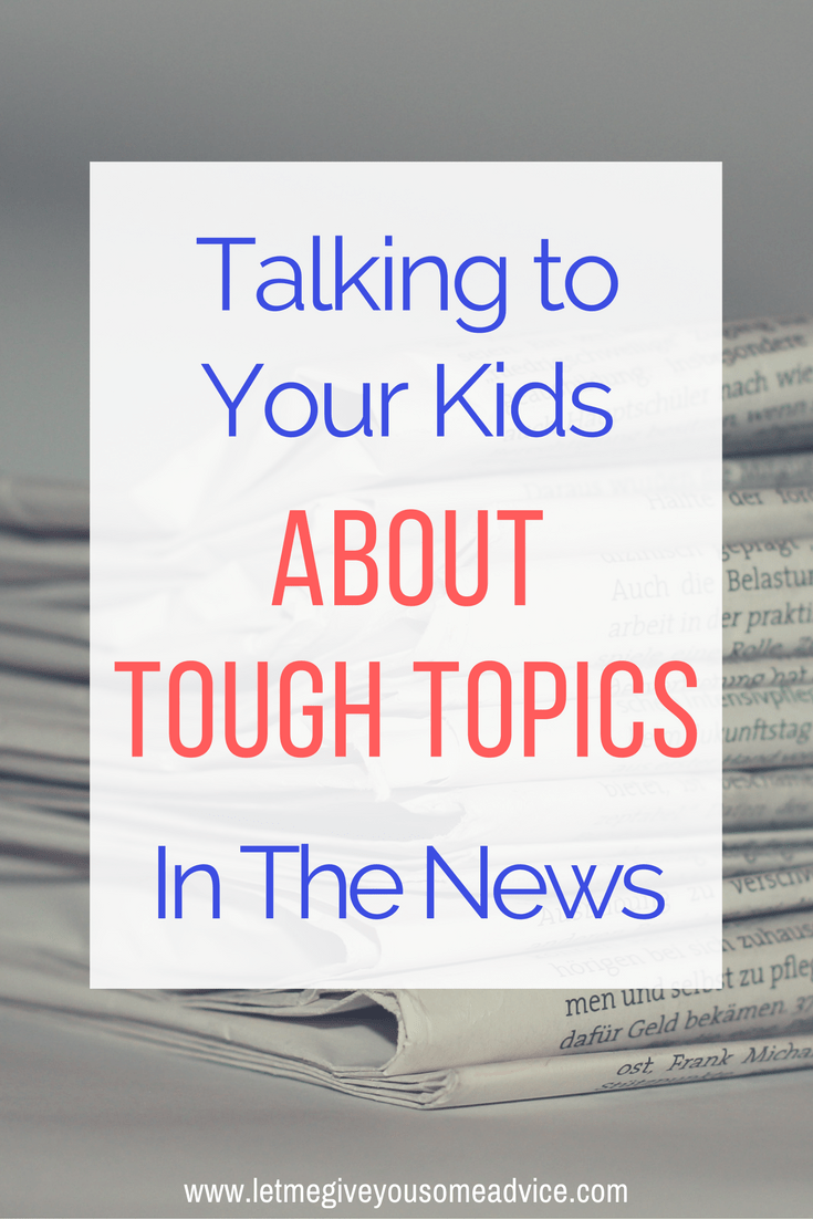 These 10 questions get the conversation started. Find out how to talk with your kids about the news and the tough topics that arise from today's headlines.