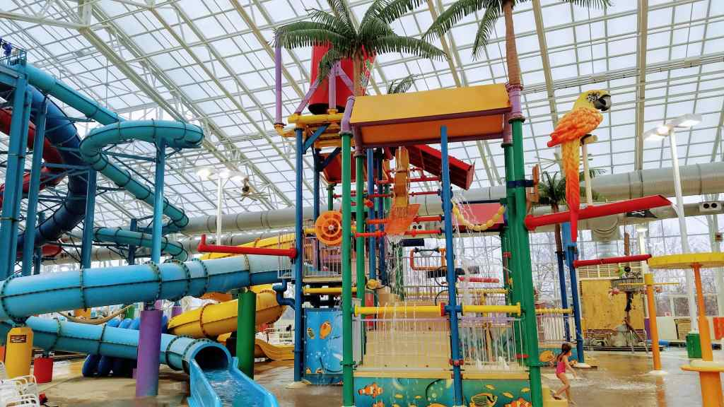 Affordable Family Winter Getaways - Big Splash Adventure in French Lick, Indiana
