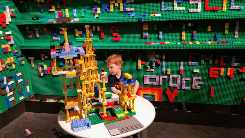 Chicago Museums for Kids - Museum of Science and Industry Lego exhibit