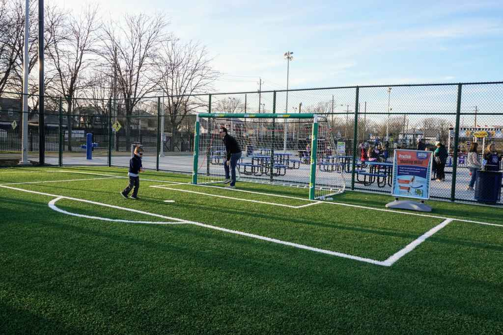 Sports Legends Experience Tips - Soccer goals