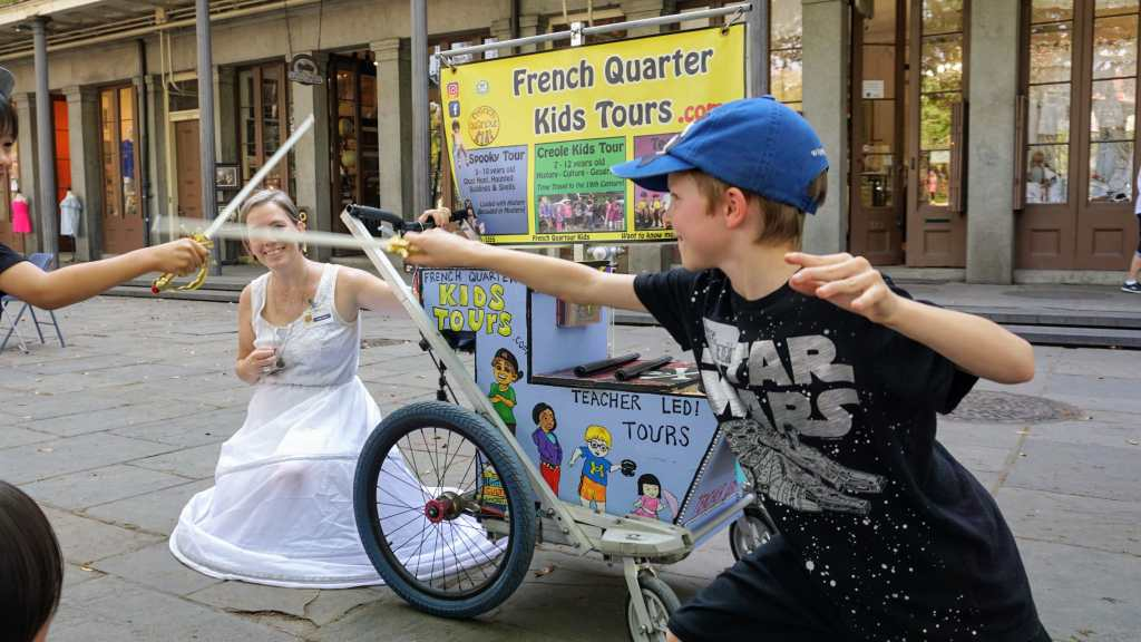 French Quarter With Kids - French Quarter Kids Tours
