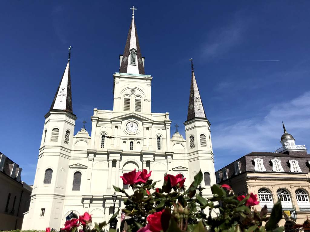 French Quarter with Kids - St. Louis Cathedral