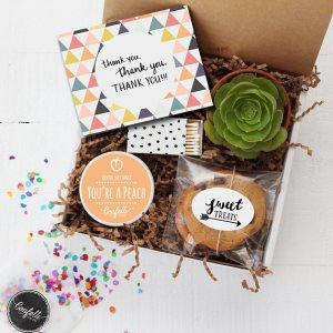 Unique Teacher Appreciation Gifts - thank you gift box