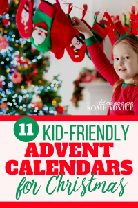Best Kids Advent Calendar - Child with stockings