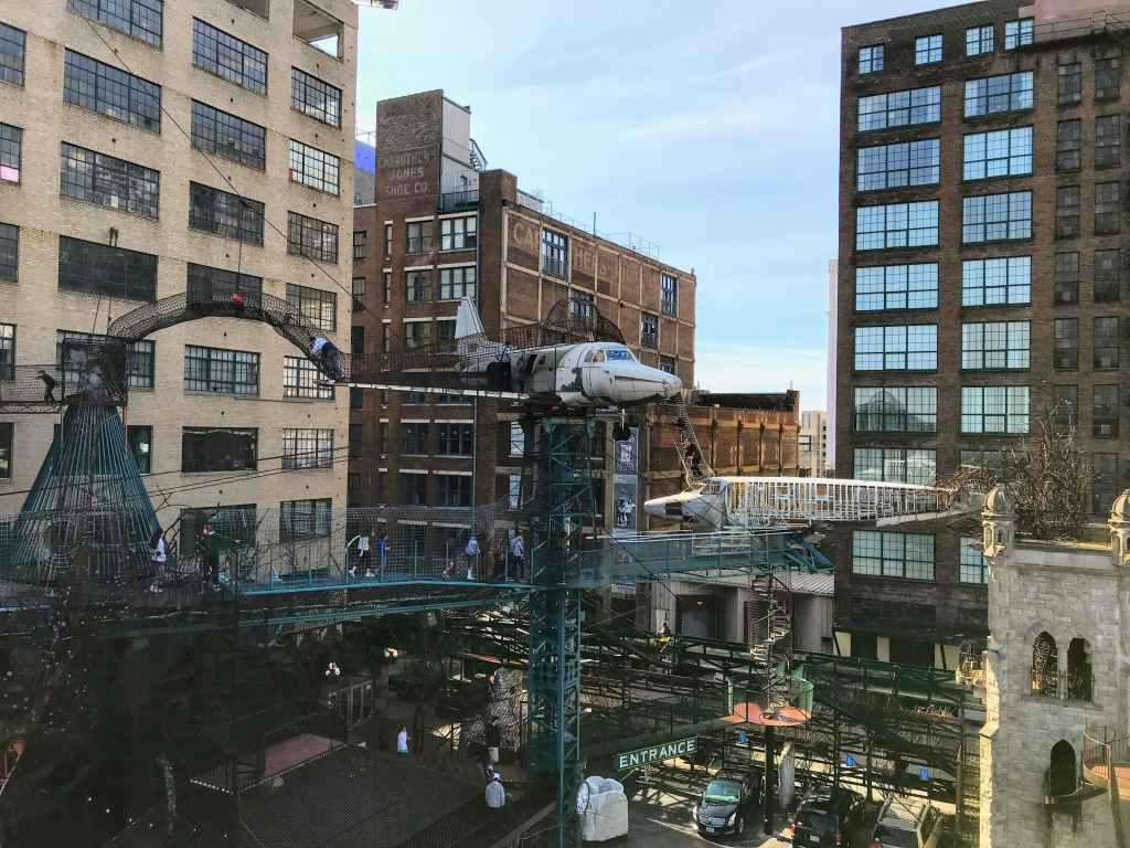 St Louis Family Trip - City Museum