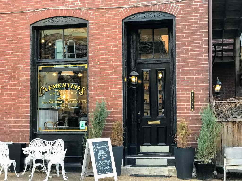 Where to eat with kids in St Louis - Clementine's Creamery