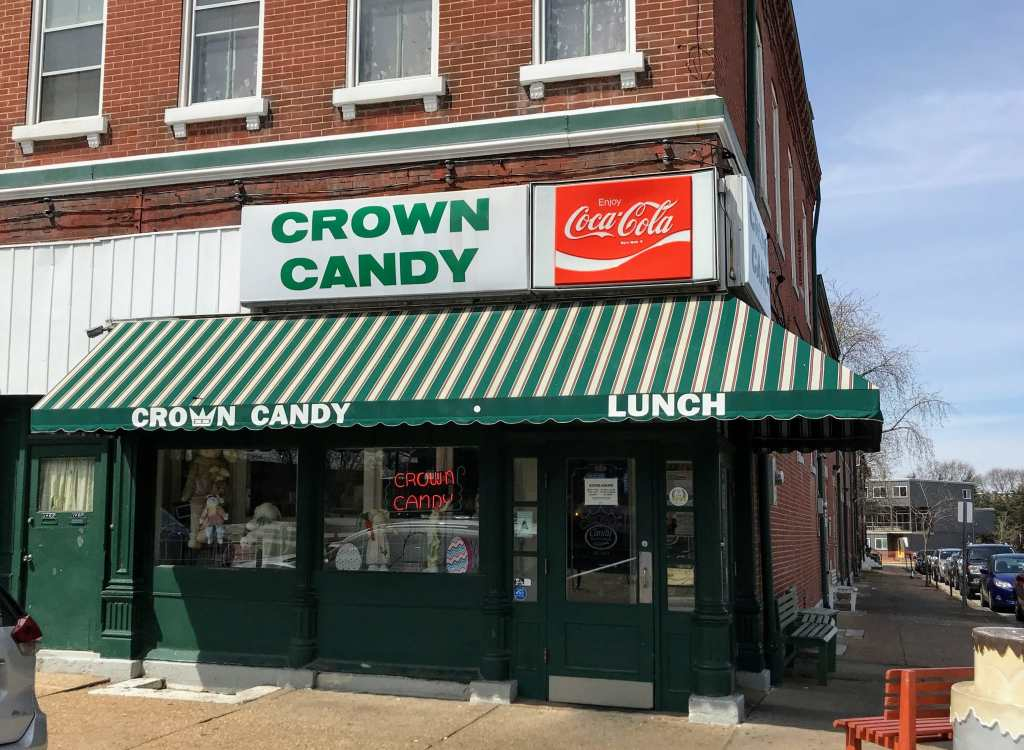 St Louis Family Trip - Crown Candy Kitchen