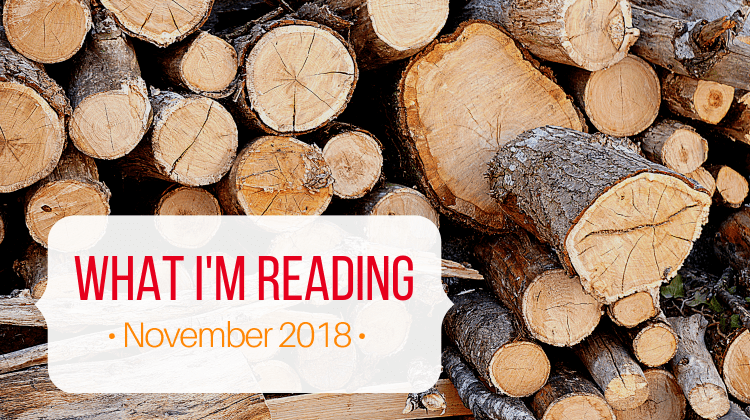 What I'm Reading November 2018 feature image