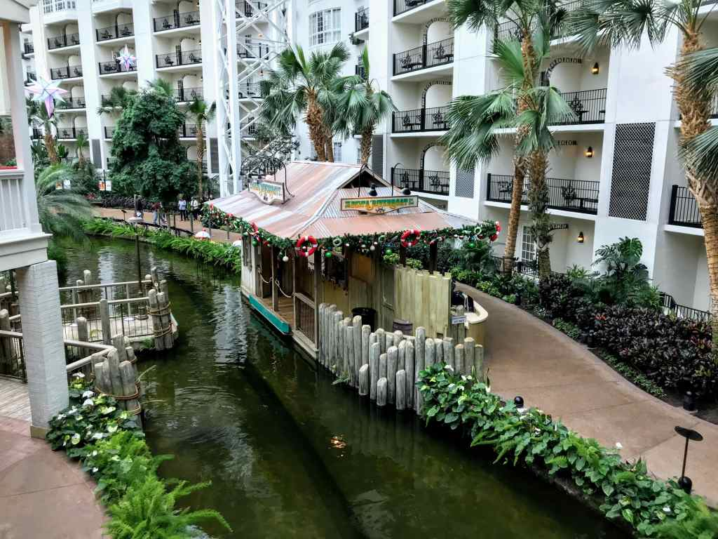 Touring the Opryland Hotel with Kids - riverboat ride