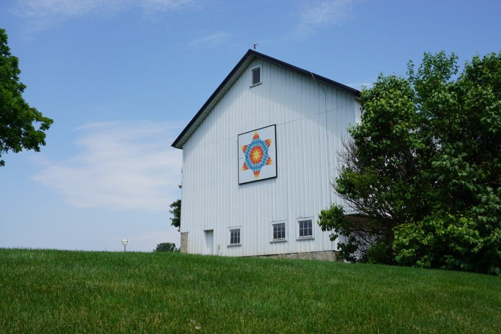 Shipshewana with Kids - barn