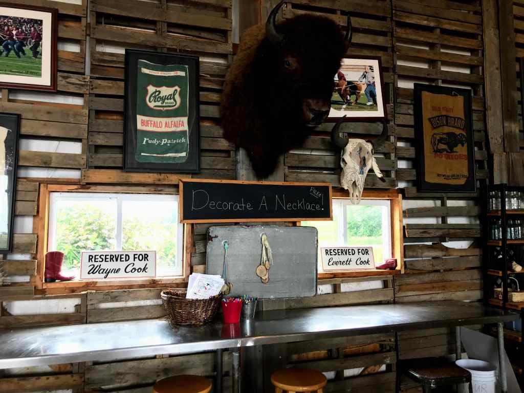 Shipshewana with kids - Cook's Bison Ranch Barn
