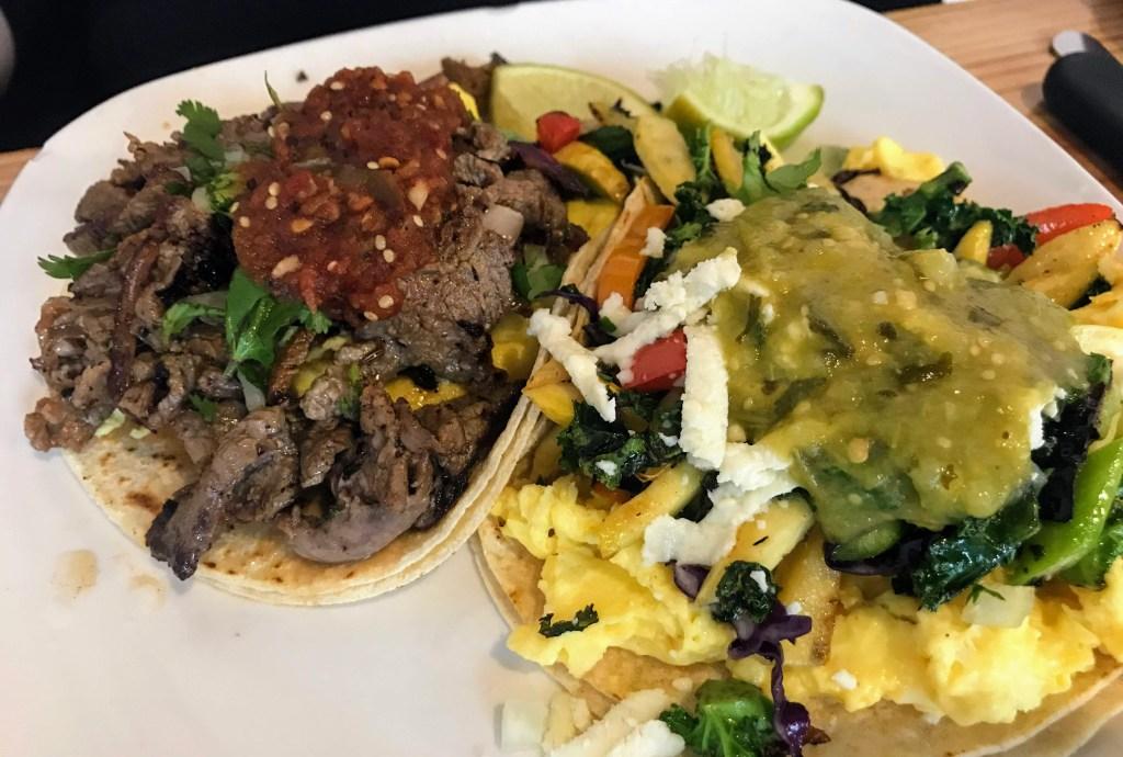 Egg Restaurant breakfast tacos