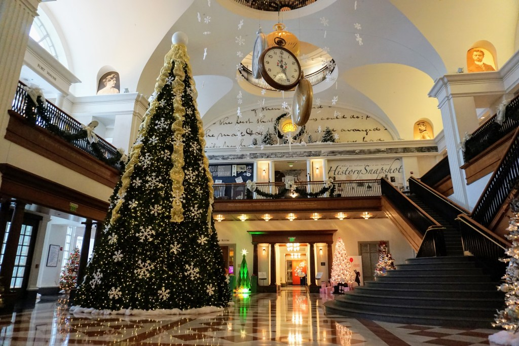 Indianapolis Christmas Events with Kids - Festival of Trees at The Indiana Historical Society