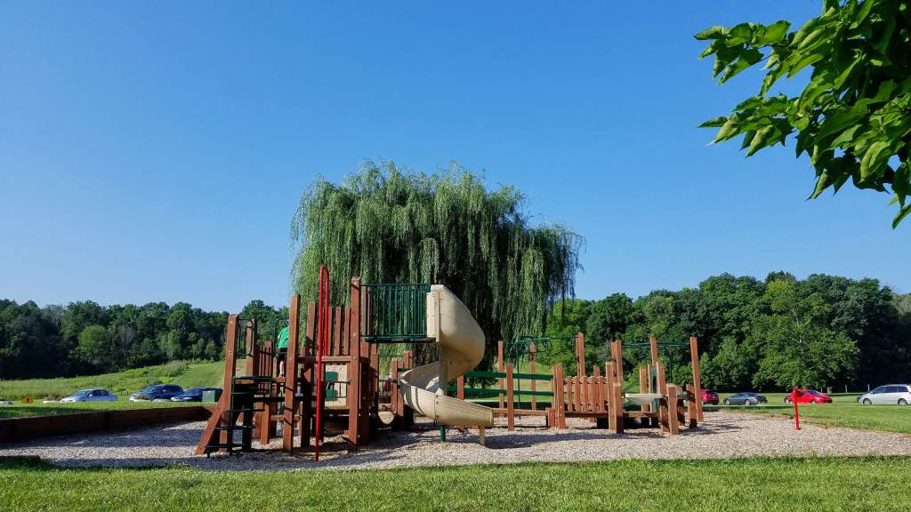 List of Indiana State Parks for Families - Fort Harrison playground