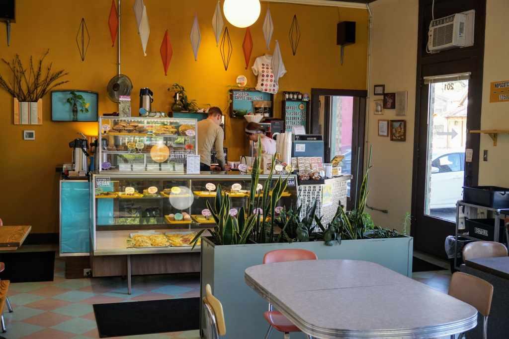 Restaurants Bloomington Indiana with Kids - Rainbow bakery