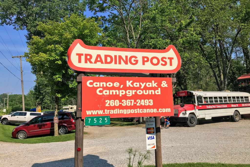 Shipshewana with Kids - Trading Post Canoe and Kayak