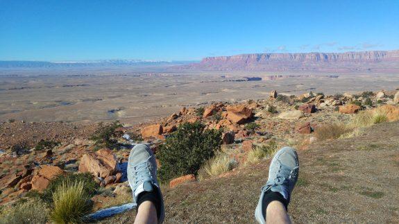 Colorado USA pieds