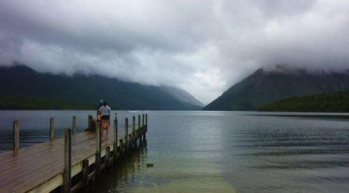 St arnaud ponton lac