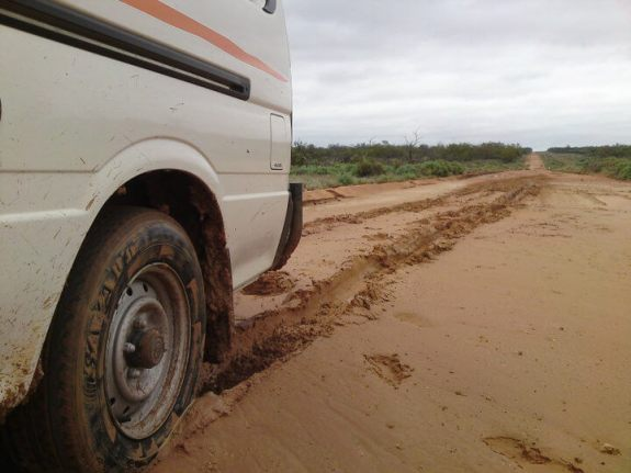 Van Asutralie boue perdu