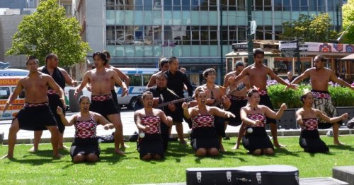 haka christchurch downtown