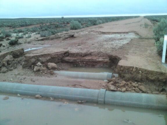 torrent d'eau Australie désert