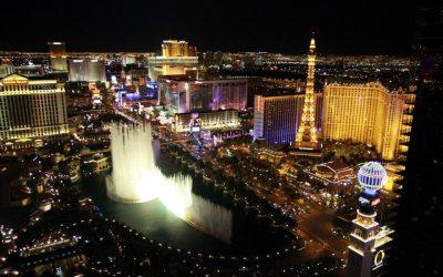 Vue depuis le Cosmopolitan à Las Vegas