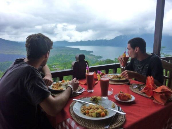 Restaurant en indonésie