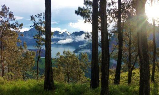 Mt Rinjani Lombok Indonésie