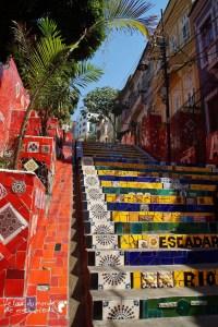 lapa step Escadaria Selarón rio de janeiro