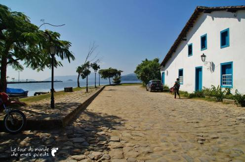 Rue pavée Brésil Paraty