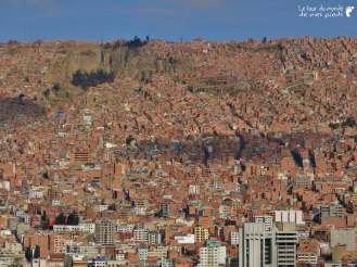 panorama de la ville la paz