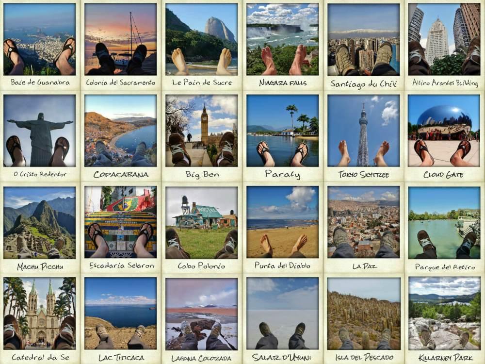 4 mois mes pieds autour du monde