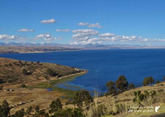route en bus copacabana lac titicaca cordillère royale