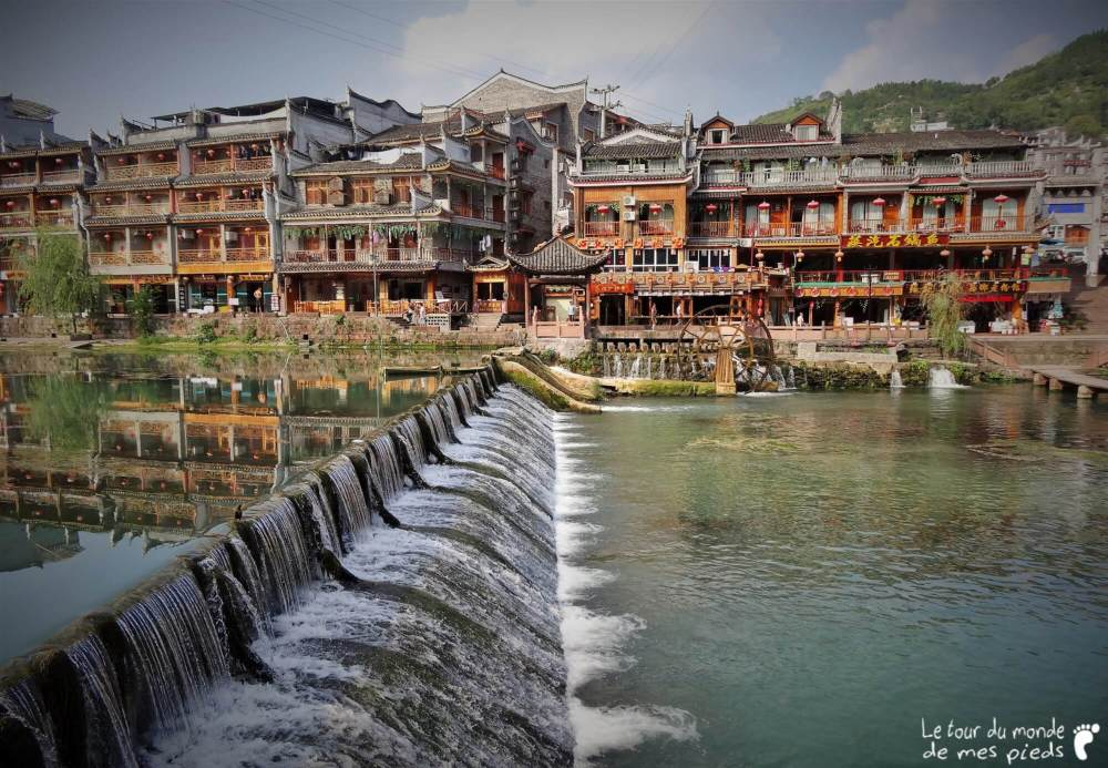 Fenghuang Chine rivière Tuo