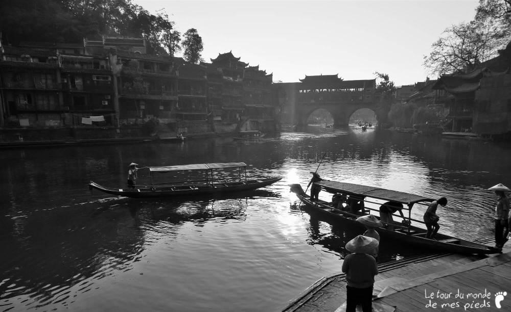 Fenghuang noir et blanc