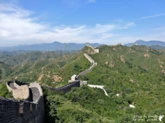 longueur grande muraille