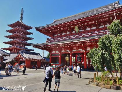 Temple Senso Ji Panorama