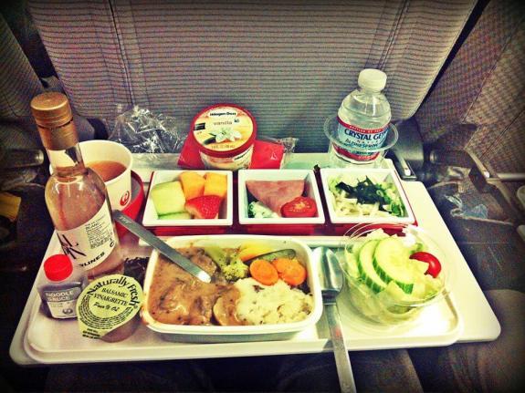 Japan-Airline plateau repas