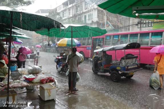 Bangkok sous la pluie météo