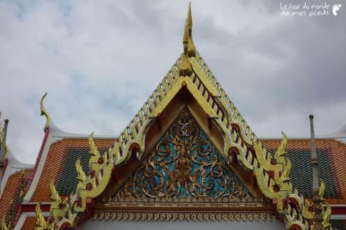 Toiture temple Thaïlandais