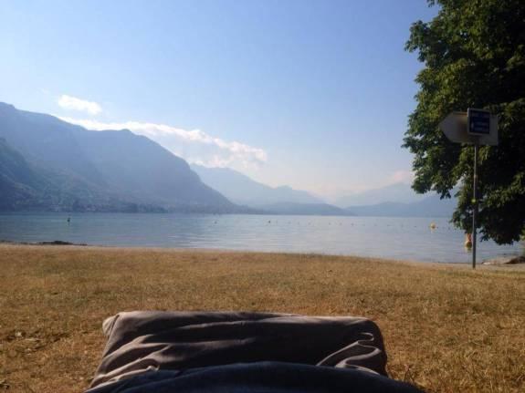 Lac annecy sac de couchage