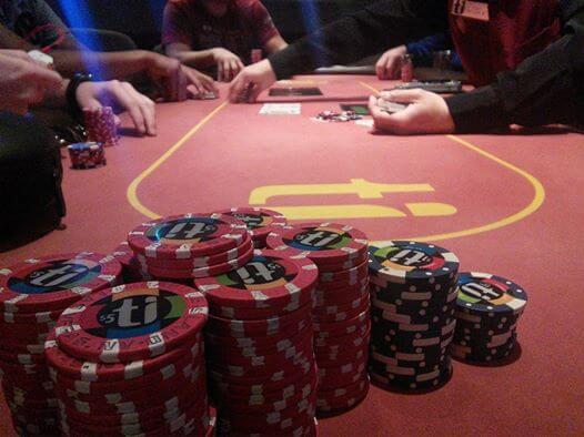Ti poker room