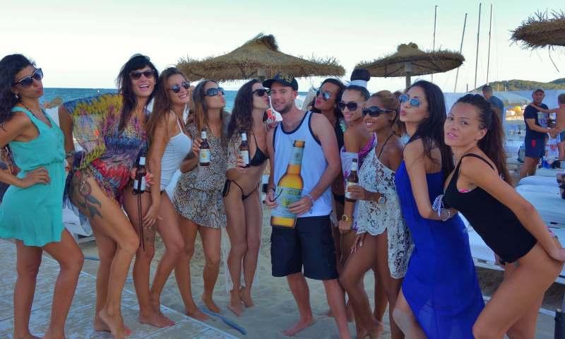 Ibiza bikini girl