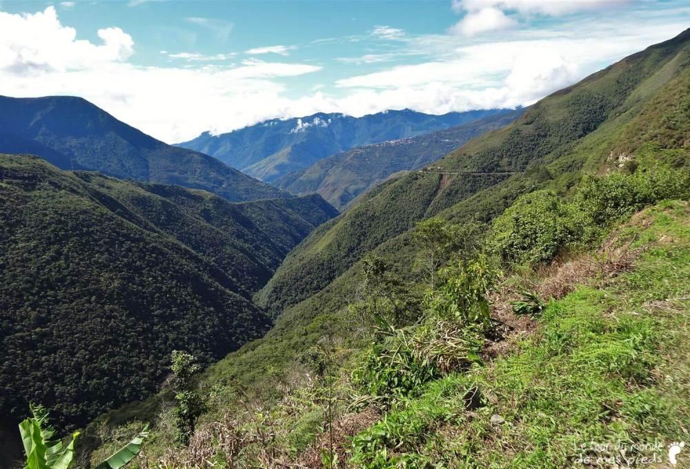 paysage paz bolivie vtt
