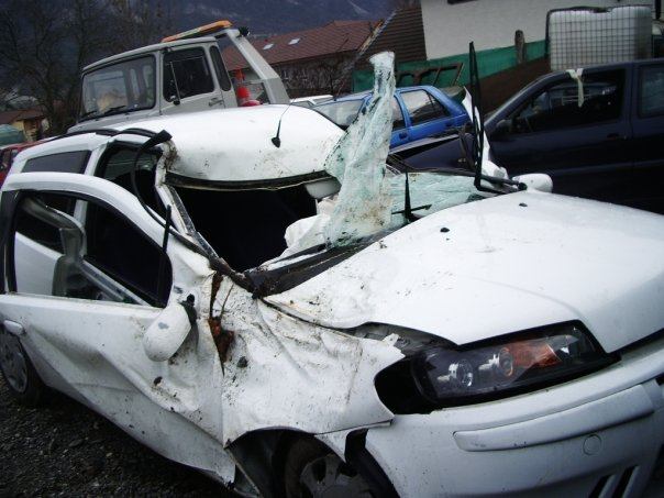 accident voiture airbag