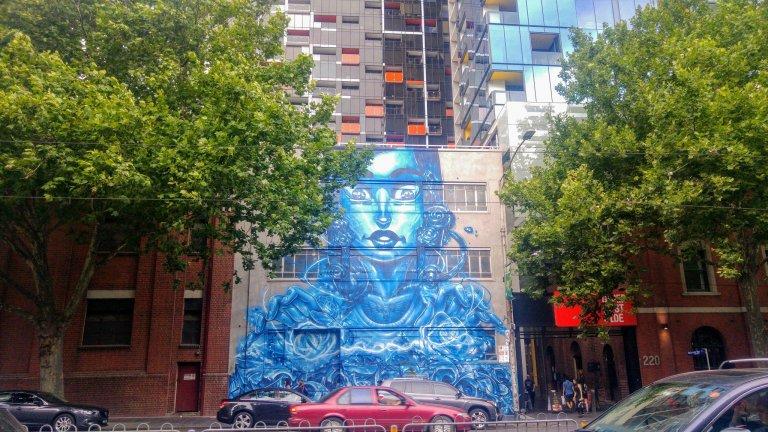 Blue graff Melbourne